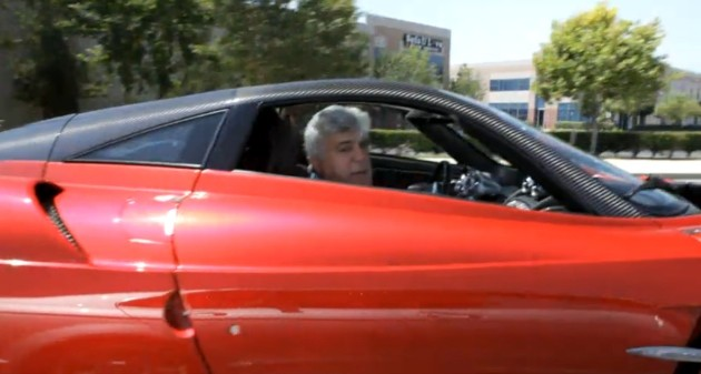 Jay Leno and Pagani Huayra