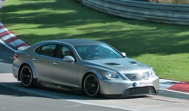 lexus ls tmg Lexus LS TMG Edition running the Ring