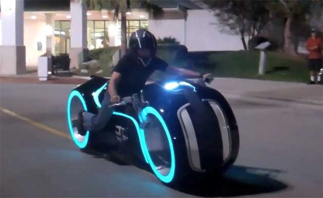 Tron: Legacy Light Cycle Replica