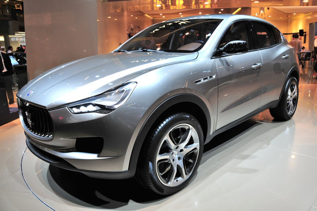Maserati Kubang Concept live at 2011 Frankfurt Motor Show