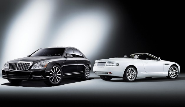 Maybach and Aston Martin