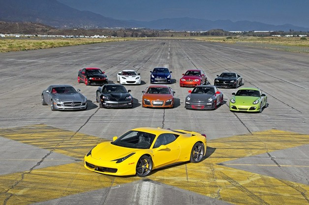 Motor Trend 2011 Best Driver's Car Competition