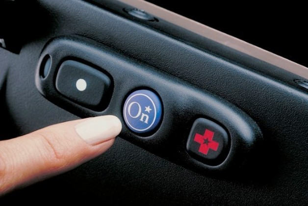 OnStar button