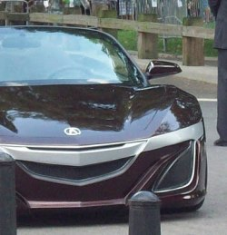 Tony Stark's new Acura sports car.