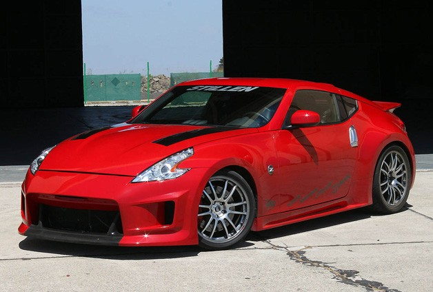 supercharged nissan 370z by stillen