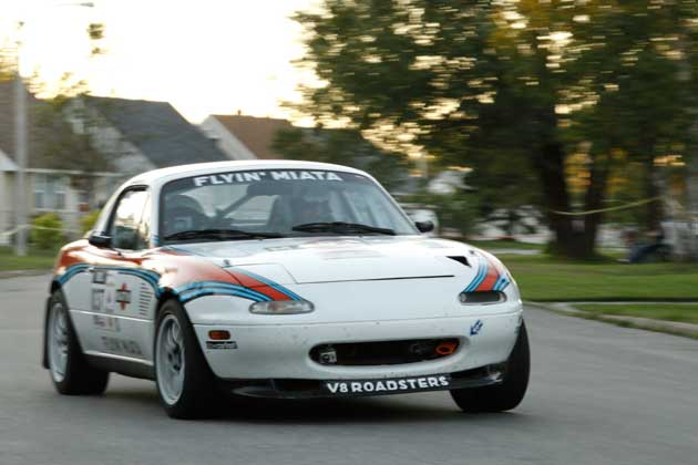 Flyin Miata at the 2011 Targa Newfoundland