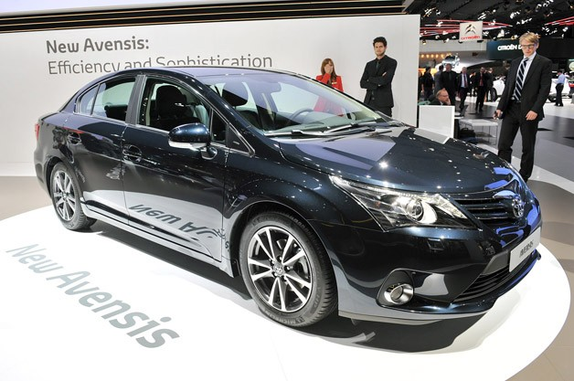 2012 Toyota Avensis is a Japanese people's car for the European masses