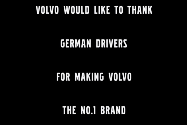 Volvo thanks Germany