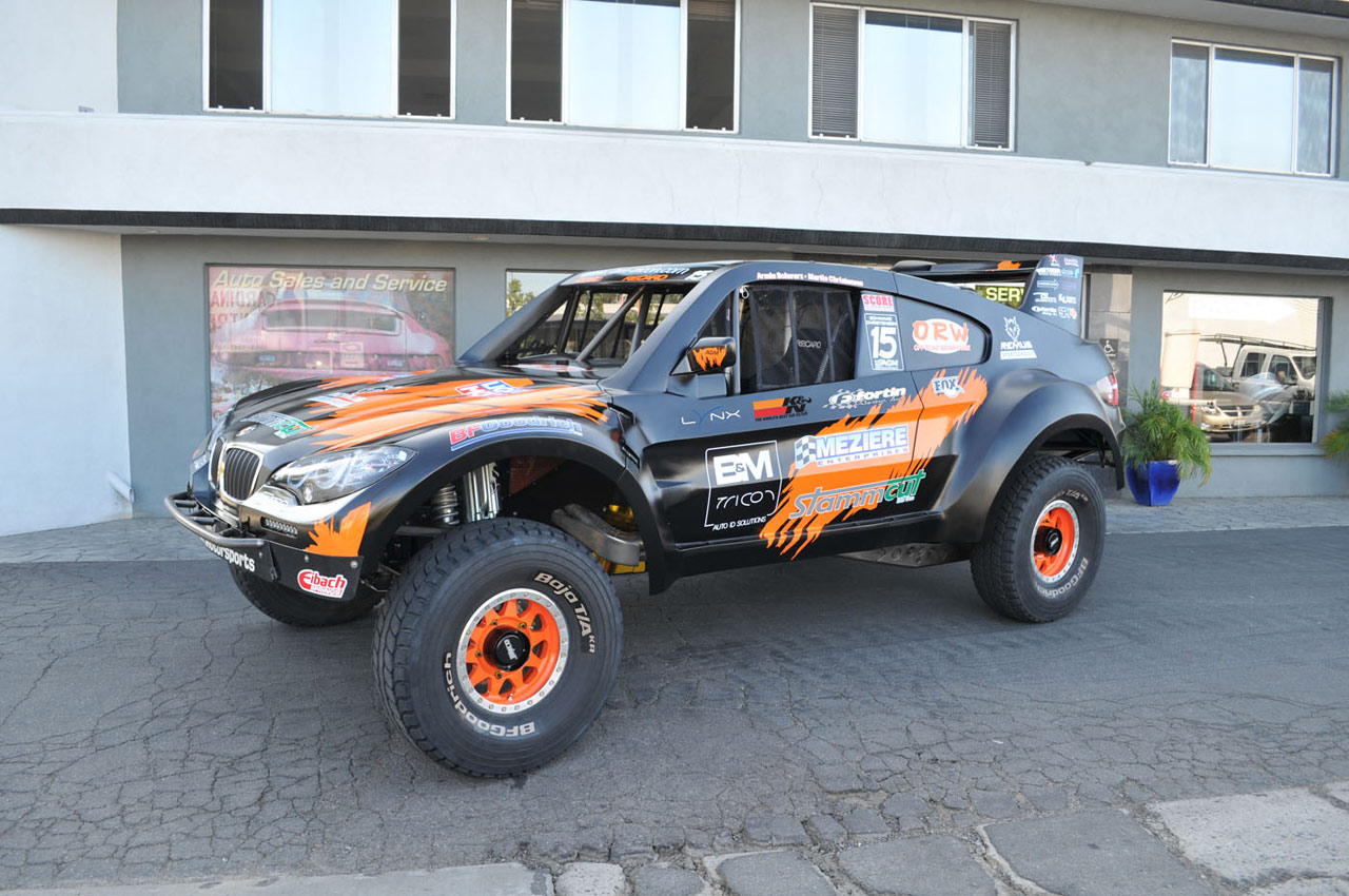 Bmw X6 Trophy Truck Augments The Already Outrageous W