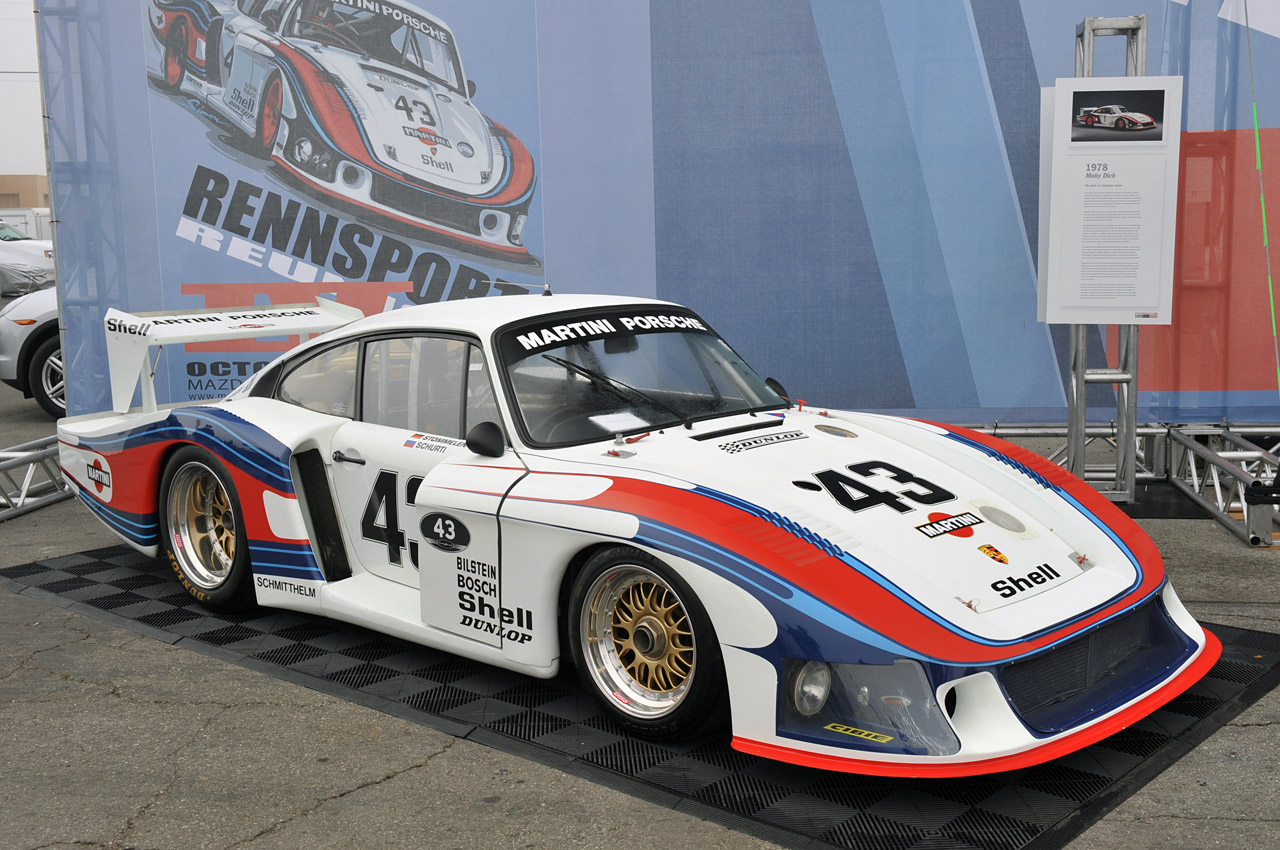 rennsport reunion iv 1978 porsche 935 moby dick autoblog. Black Bedroom Furniture Sets. Home Design Ideas