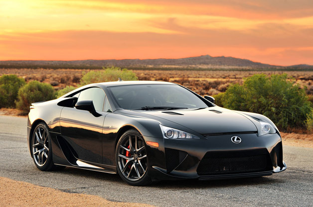 Lexus LFA owners gets locale to mislay speed bump