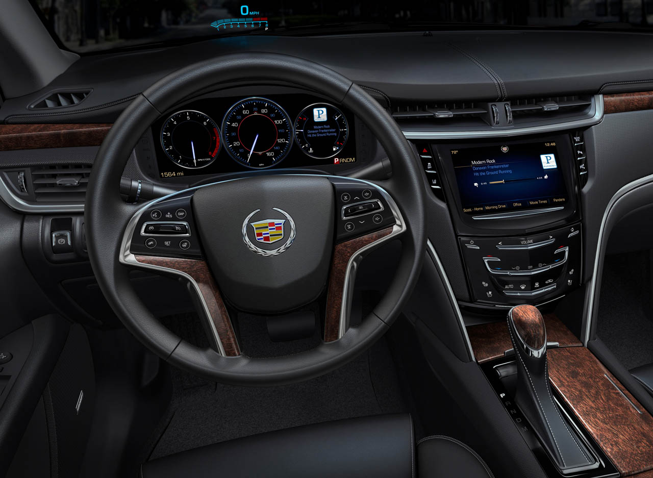 Cadillac CUE GMs Luxury Brand Ups The Infotainment Game