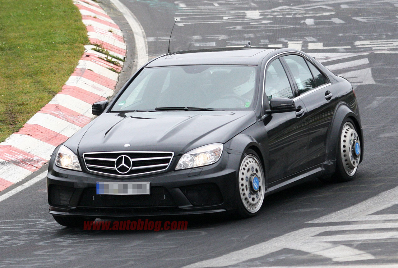 Mercedes benz prepping hardcore c63 amg black series sedan for Mercedes benz sedans