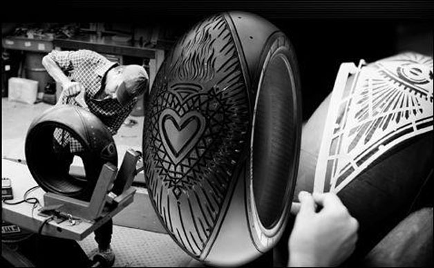 Pirelli Tire Carving