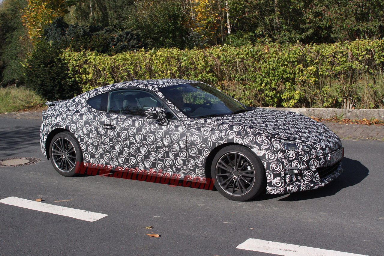 Subaru BRZ: Spy Shots Photo Gallery - Autoblog