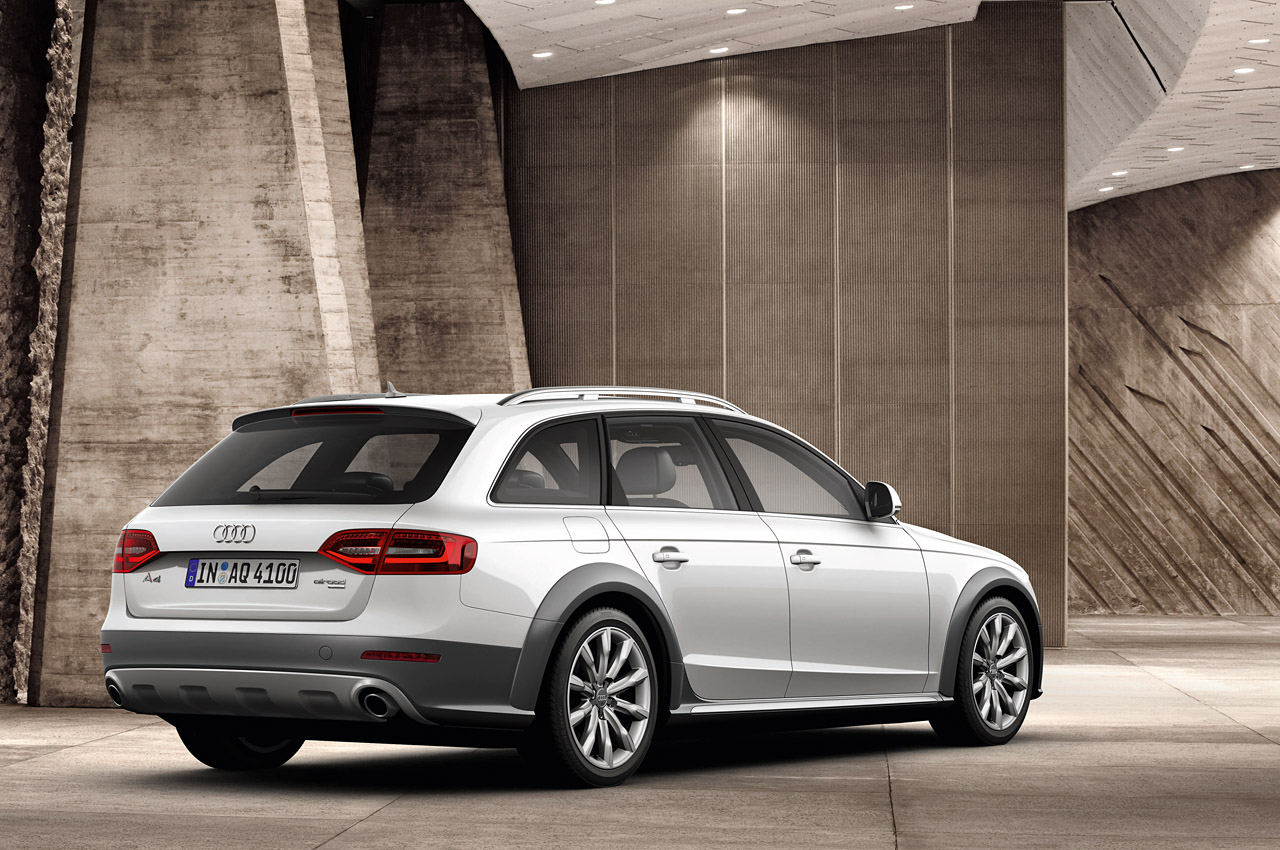 2013 Audi A4 S4 And A4 Allroad Quattro Fully Revealed W