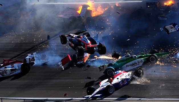 IndyCar driver Dan Wheldon dies at Las Vegas 300