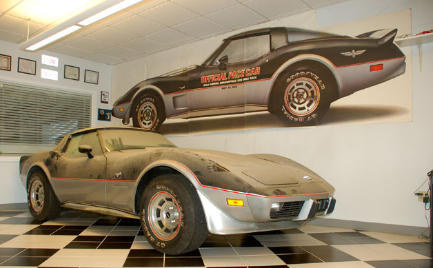 1978 Chevrolet Corvette Pace Car Barn Find