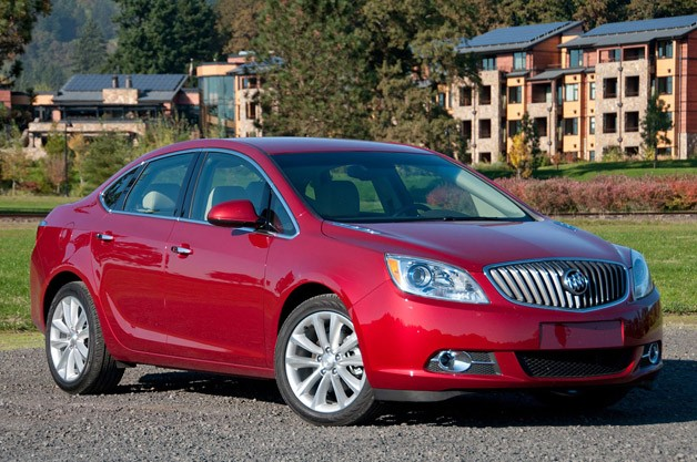 ... 2012 Buick Verano , the American automaker's fresh new