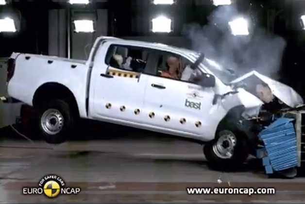 2012 Ford Ranger crash test