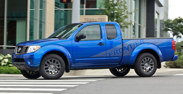 2012 Nissan Frontier with Sport Appearance Package