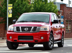 2012 Nissan Titan with Sport Appearance Package