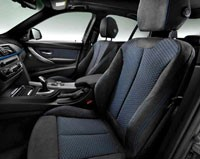 2012 BMW 3 Series interior