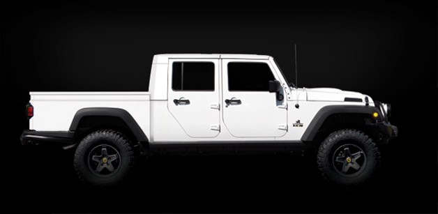 American Expedition Vehicles Brute Double Cab