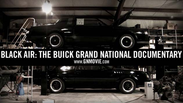 Buick Grand Nationals in a garage