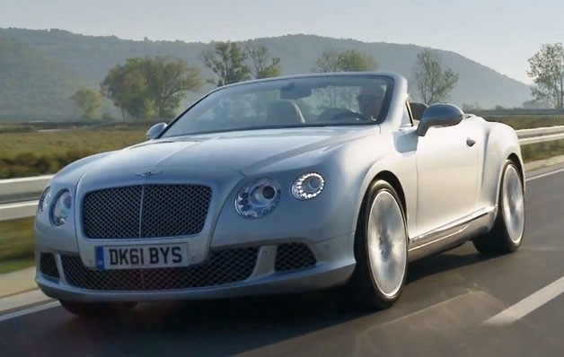 2012 Bentley Continental GTC video