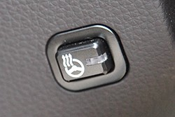 2011 Hyundai Equus steering wheel heater