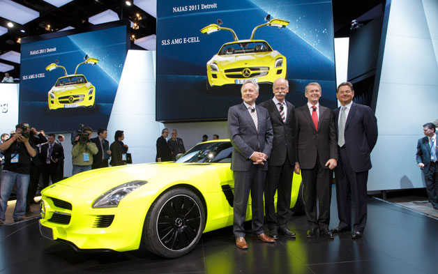 Ernst Lieb with SLS AMG