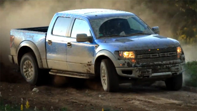 2012 Ford F-150 SVT Raptor Commercial