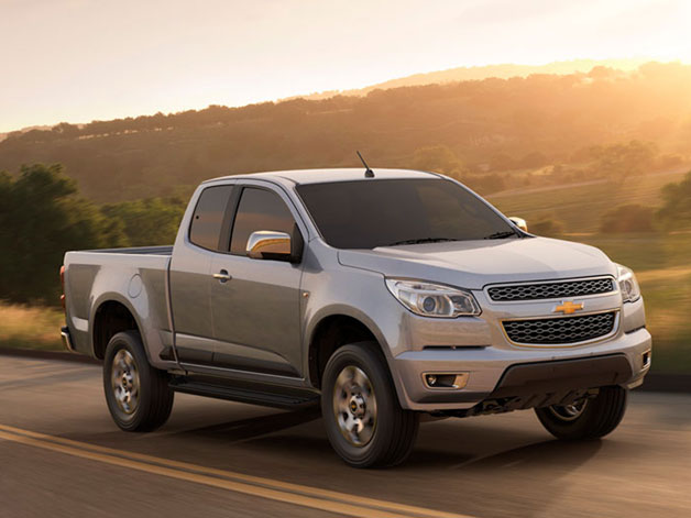 2012 Chevrolet Colorado (global model)