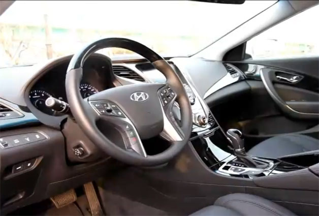 Hyundai Azera Interior screen capture