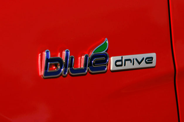 Hyundai Blue Drive Badge