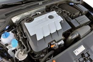 2011 Volkswagen Jetta TDI engine