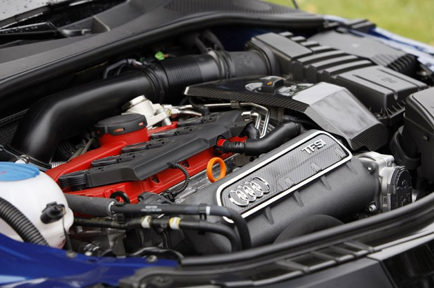2012 Audi TT RS engine