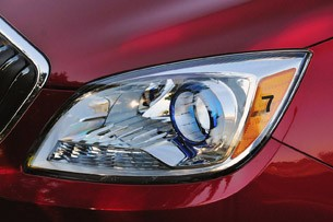 2012 Buick Verano headlight