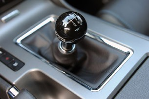 2011 Ford Mustang RTR shifter
