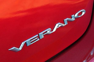 2012 Buick Verano badge