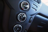 2012 Mitsubishi i climate controls