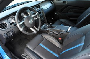 2011 Ford Mustang RTR interior