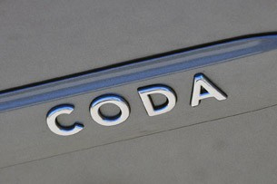 2012 Coda Sedan badge