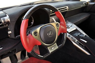 2012 Lexus LFA steering wheel