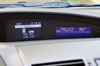 2012 Mazda3 Skyactiv digital information display