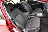2012 Subaru Impreza front seats