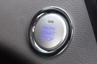 2011 Hyundai Sonata Hybrid start button