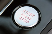 2012 Audi A6 3.0T Quattro engine start button