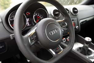 2012 Audi TT RS steering wheel